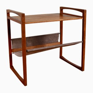 Scandinavian Teak Magazine Rack by Kai Kristiansen for Silka Mobile, 1960s