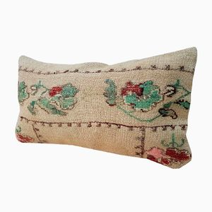 Embroidered Aubusson Style Cushion Cover from Vintage Pillow Store Contemporary, 2010s