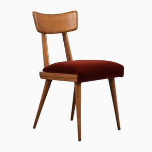 Moderne dänische Beistellstühle, 1960er, 2er Set