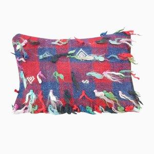 Funda de cojín Shaggy Kilim de Vintage Pillow Store Contemporary, década del 2010