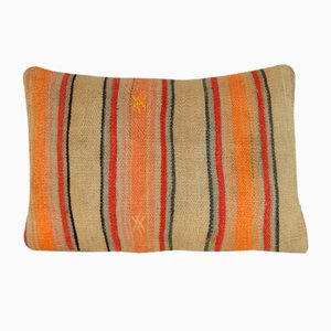 Orange Kilim Cushion Cover from Vintage Pillow Store Contemporary, 2010s