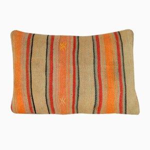 Orangener Kelim Kissenbezug von Vintage Pillow Store Contemporary, 2010er