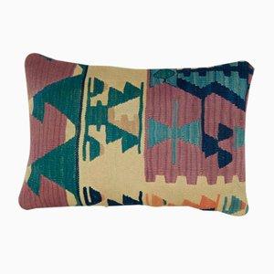 Housse de Coussin Kilim Aztèque de Vintage Pillow Store Contemporary, 2010s