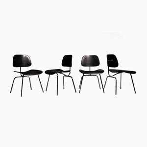 DCM Chairs by Charles & Ray Eames for Vitra, 1960s, Set of 4