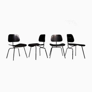Sedie DCM di Charles & Ray Eames per Vitra, anni '60, set di 4