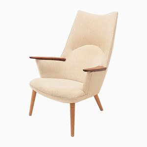 Danish AP27 Mama Bear Chair by Hans J. Wegner for A.P. Stolen, 1960s