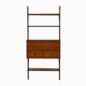 Danish Rosewood Modular Wall Unit by Poul Cadovius, 1960s