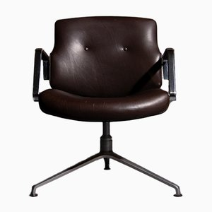 Chaise de Bureau Modèle FK84 par Preben Fabricius & Jørgen Kastholm pour Kill International, 1960s