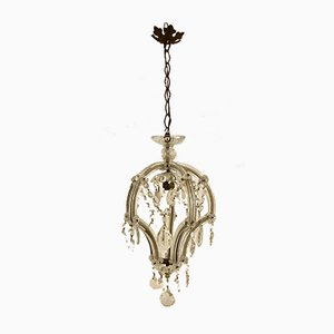 Vintage Murano Glass Chandelier, 1930s