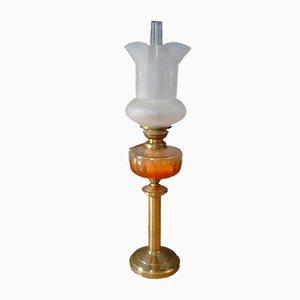 Art Nouveau Paraffin Lamp
