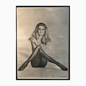 Vintage Brigitte Bardot Poster from Synergisms, 1970s