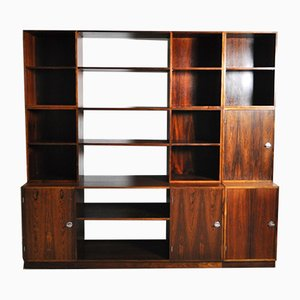 Modular Model Cresco Rosewood Wall Unit by Finn Juhl for France & Søn, 1966
