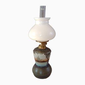 Lampada piccola vintage in paraffina