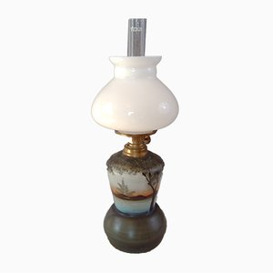 Small Vintage Paraffin Lamp