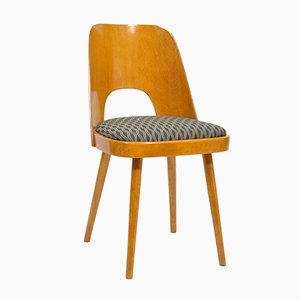 Mid-Century Upholstered Dining Chair by Oswald Haerdtl for TON, 1960s
