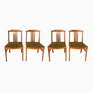 Schwedische Vintage Stühle, 4er Set