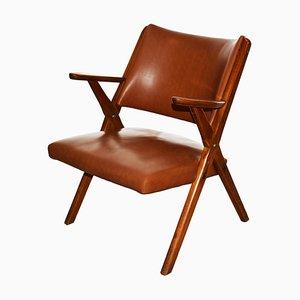 Vintage 3080 Armlehnstuhl von Dal Vera, 1960er