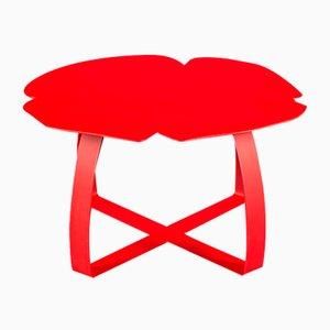 Roter Andy Couchtisch aus Eisen von VGnewtrend