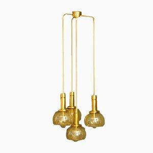 Goldene Kaskadenlampe, 1960er