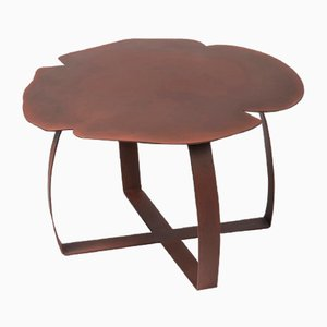 Rust Coloured Iron Andy Coffee Table from VGnewtrend