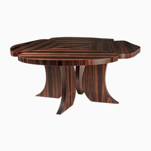 Matt Ebony Wood Andy Table by Patrizia Guiotto for VGnewtrend