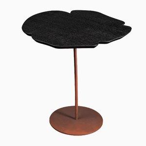 Tavolino Andy Mono in quercia, wengé e ferro di VGnewtrend