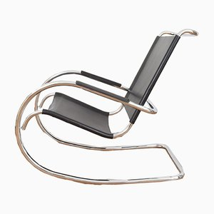 Mid-Century Italian Rocking Chair from Fasem, 1960s