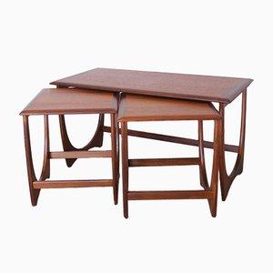 Fresco Teak Nesting Tables from G-Plan, 1960s
