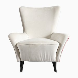 Mid-Century Italian Chairs from ISA Bergamo, 1950s, Set of 2