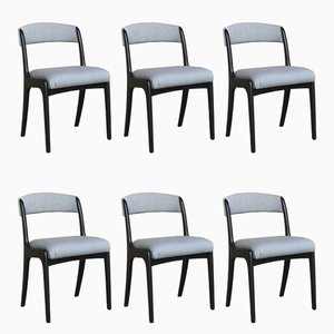 Wooden Dining Chairs from Baumann, Set of 6