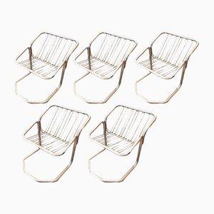 Vintage Bauhaus Chairs, Set of 5
