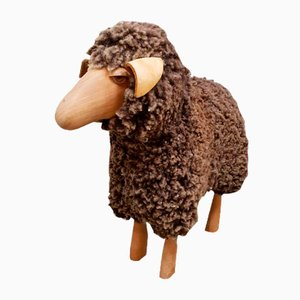 Vintage Sheep Stool by Hanns Peter for Krafft Meier