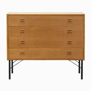 Danish Oak Commode, 1960s