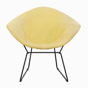 Silla Diamond vintage de Harry Bertoia para Knoll International, años 70