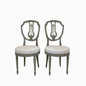 Antique Louis XVI Chairs, Set of 2