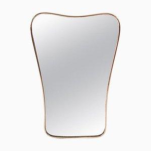 Italienischer Mid-Century Spiegel