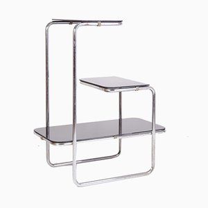 B136 Tubular Steel Shelving Unit by E. Guyot for Thonet, 1930s