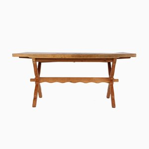 Danish Expandable Oak Dining Table