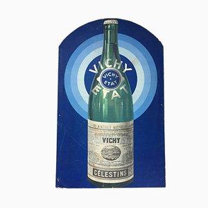 Vichy Advertising Cardboard, 1940s