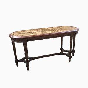 Panca da pianoforte antica Luigi XVI