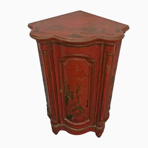 Antique Red Cantonal Cupboard