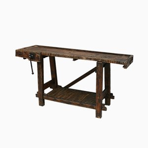 Small Antique Workbench
