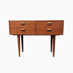 Chest of Drawers in Teak by Kai Kristiansen for Feldballes Møbelfabrik, 1960s