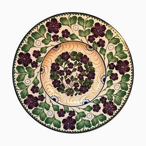 Piatto da portata antico in ceramica di Faenza di Royal Copenhagen