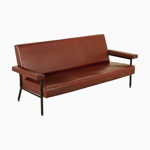 Vintage Italian Leatherette Sofa, 1960s