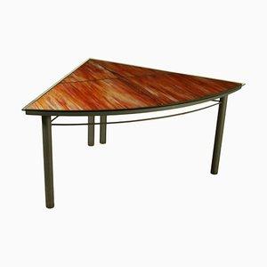 Tavolo triangolare, anni '80