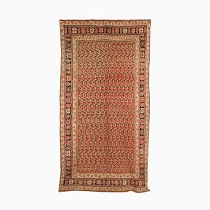 Vintage Middle Eastern Wool & Cotton Carpet