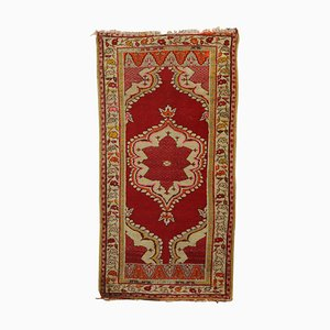 Vintage Turkish Kula Carpet