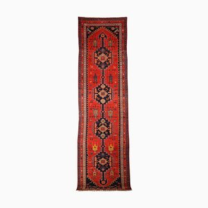 Antique Middle Eastern Wool & Cotton Carpet