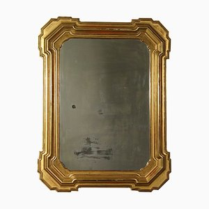 Large Antique Italian Gilded Mirror